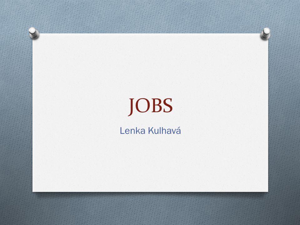 JOBS Lenka Kulhavá