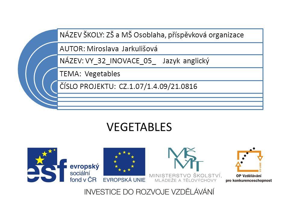Datum vytvoření projektu květen 2011 Ročník7.
