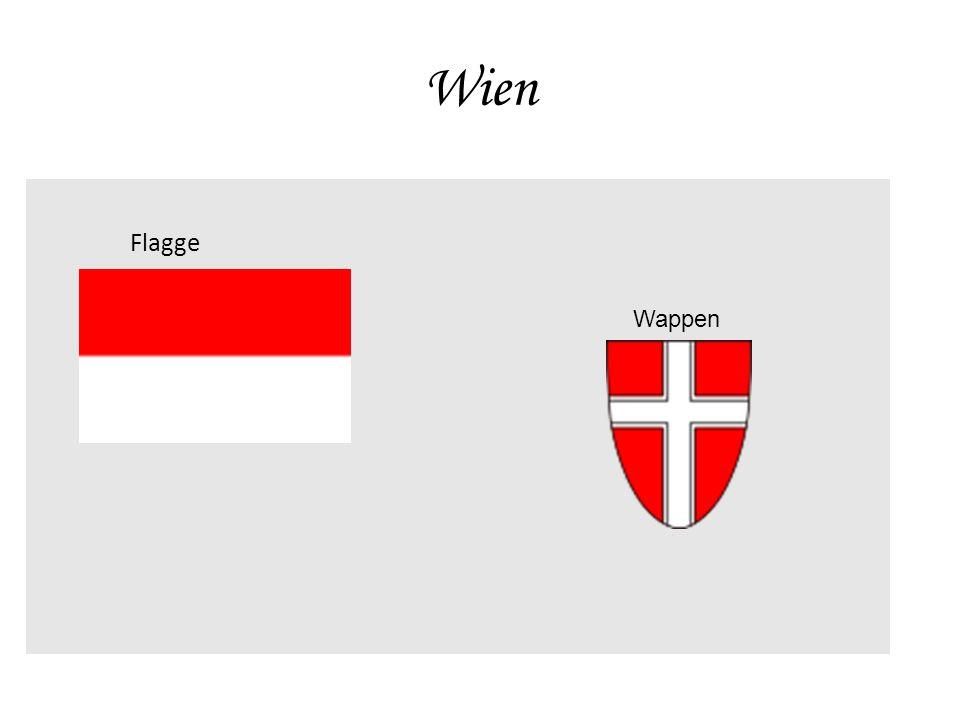 Wien Flagge Wappen
