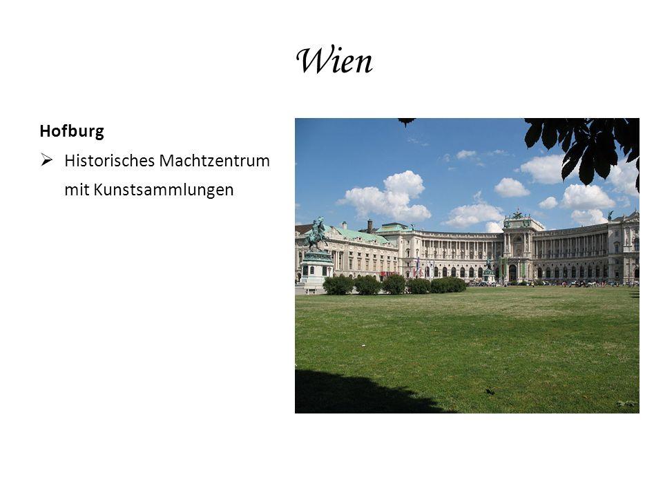 Wien Hofburg  Historisches Machtzentrum mit Kunstsammlungen