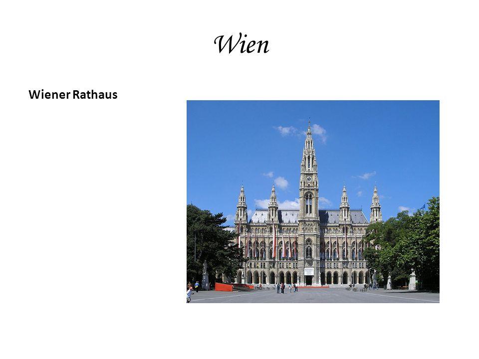 Wien Wiener Rathaus