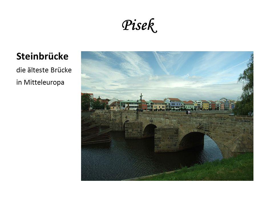 Steinbrücke die älteste Brücke in Mitteleuropa