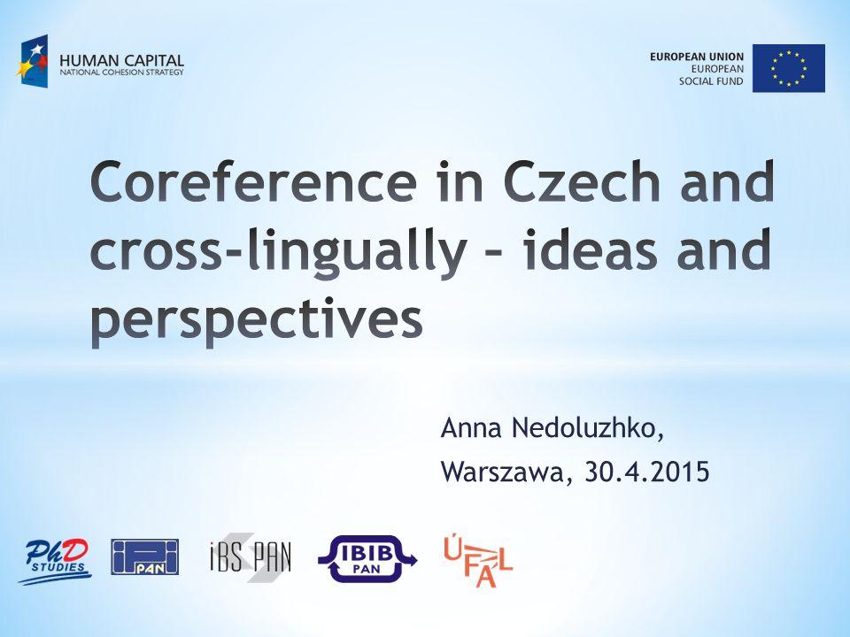 Anna Nedoluzhko, Warszawa, 30.4.2015