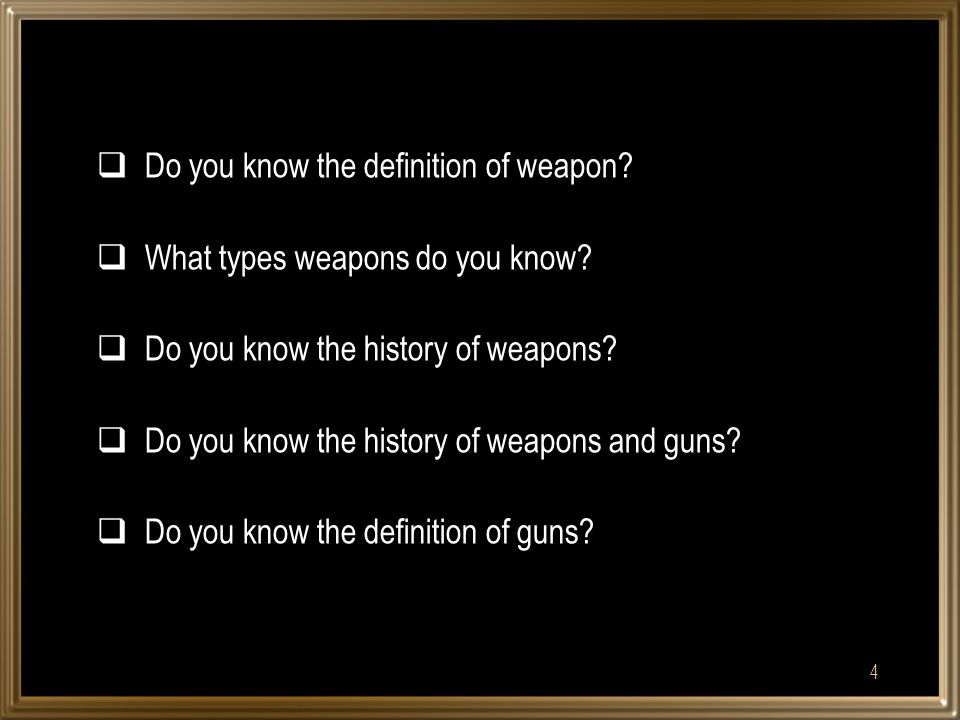  When was first weapons used. Was fire important.