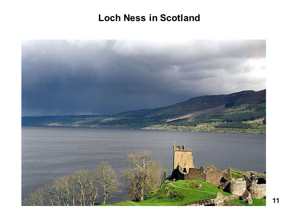 Loch Ness in Scotland 11