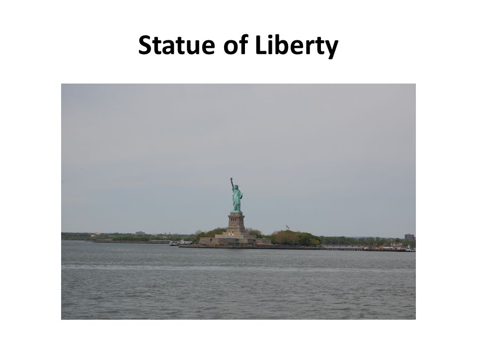 Ferry Terminal. Cruises boat around the Statue of Liberty is very popular among tourists.