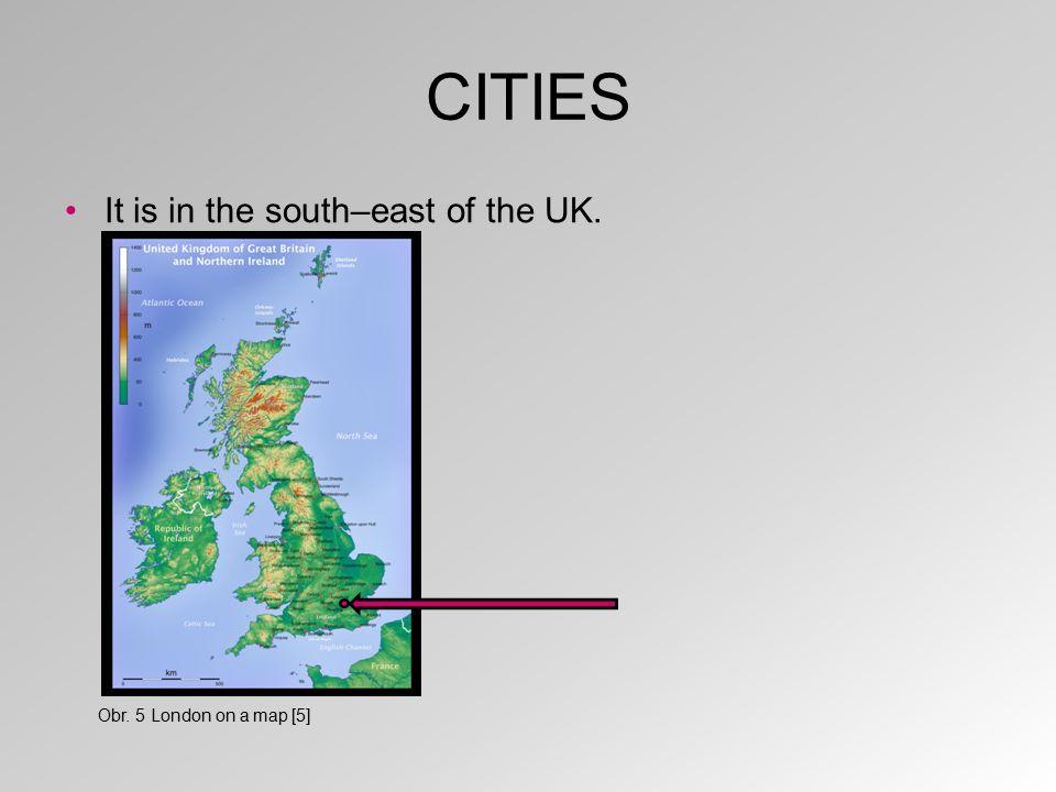 CITIES Edinburgh is the capital of Scotland. Obr. 6 Edinburgh [6]