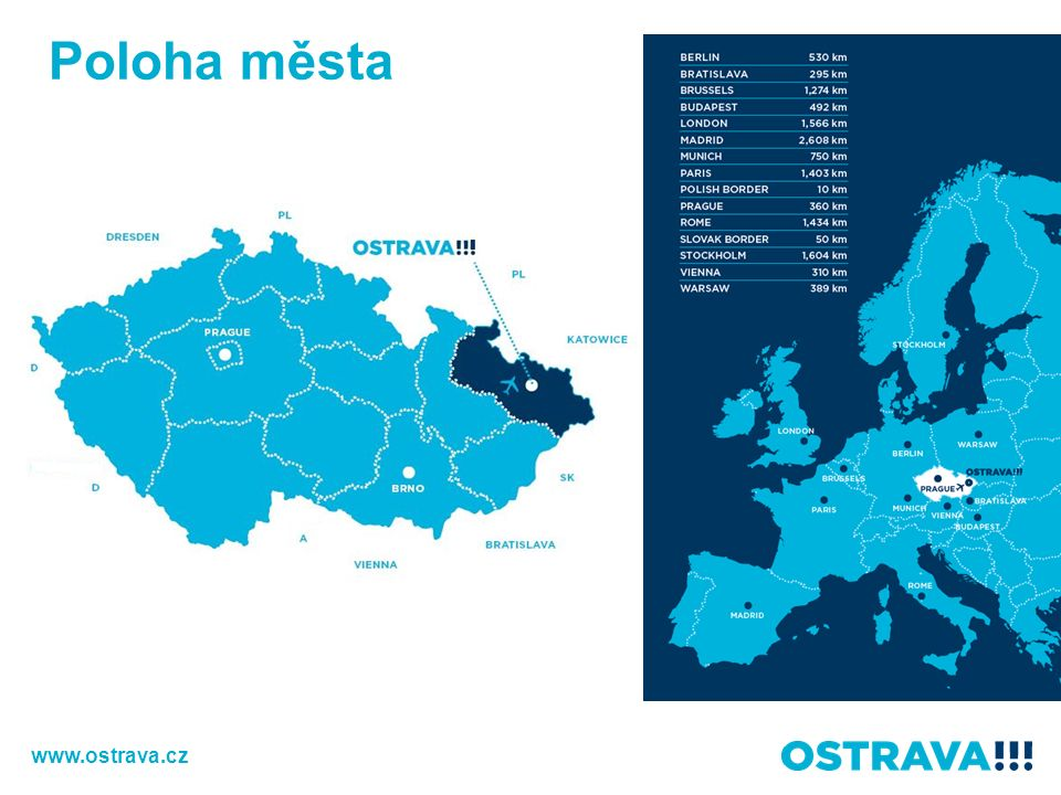 Poloha města www.ostrava.cz