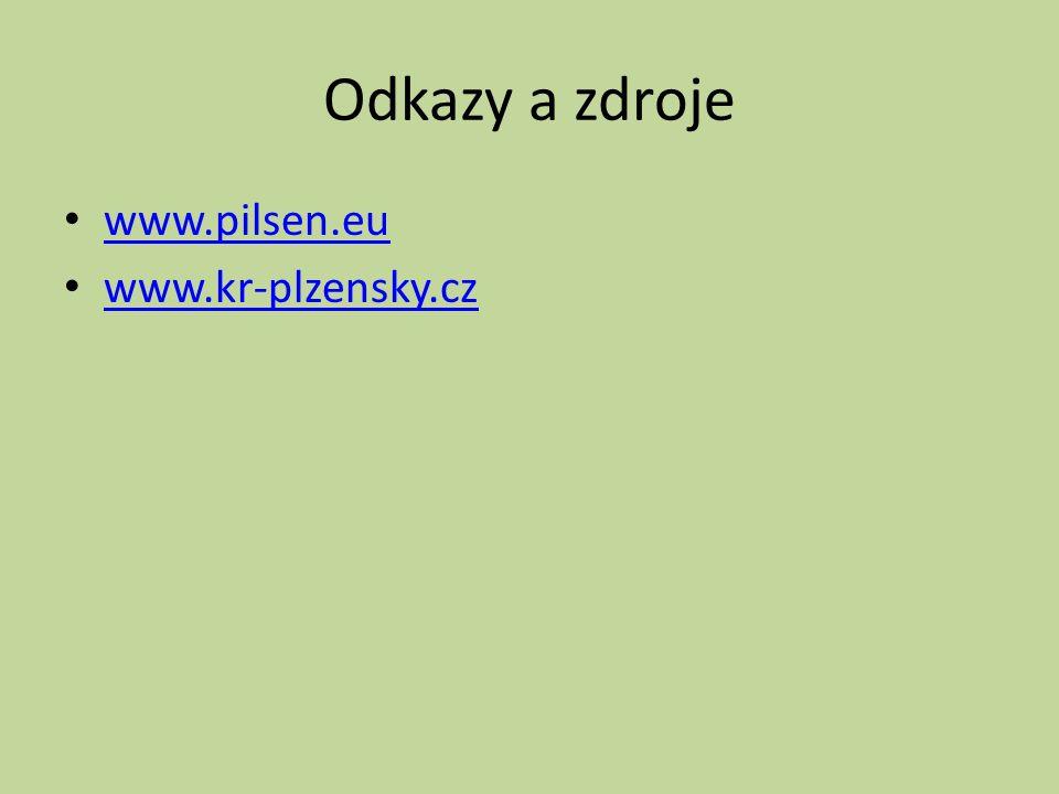 Odkazy a zdroje www.pilsen.eu www.kr-plzensky.cz