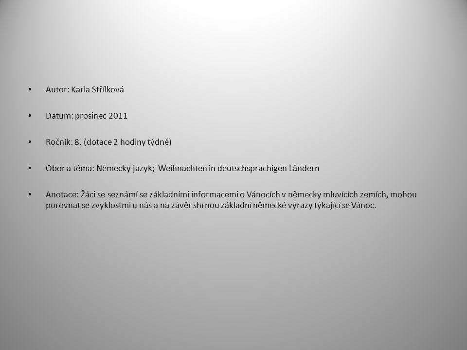 Název školy: ZŠ a MŠ T. G. Masaryka Fulnek Autor: Mgr.