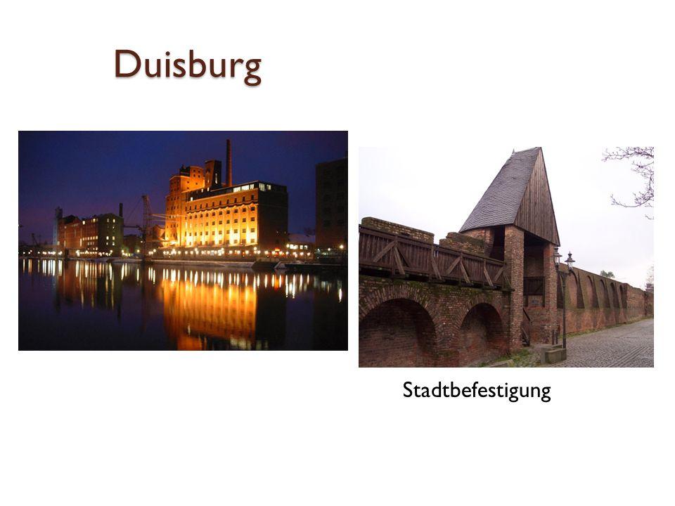 Duisburg Stadtbefestigung