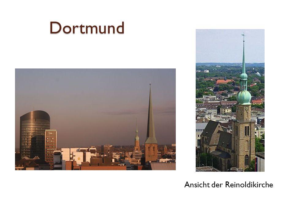 Dortmund Ansicht der Reinoldikirche