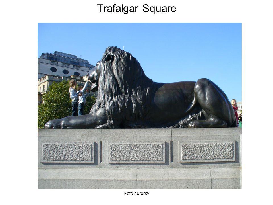 Trafalgar Square Foto autorky