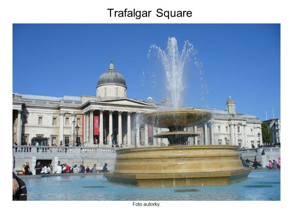 Trafalgar Square Foto autorky.