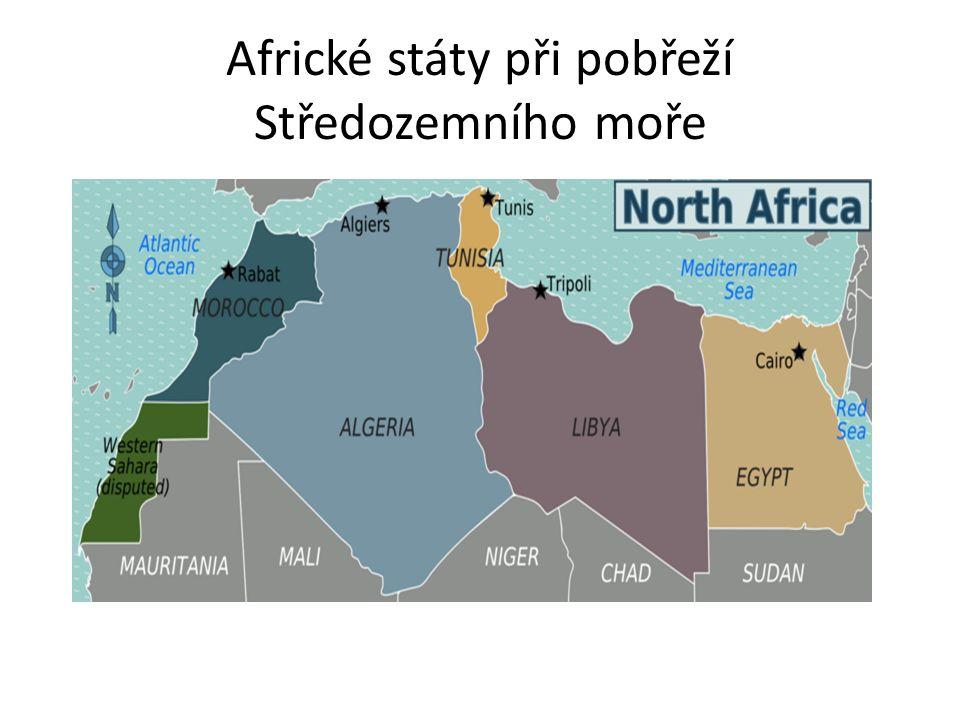 Africké státy při pobřeží Středozemního moře