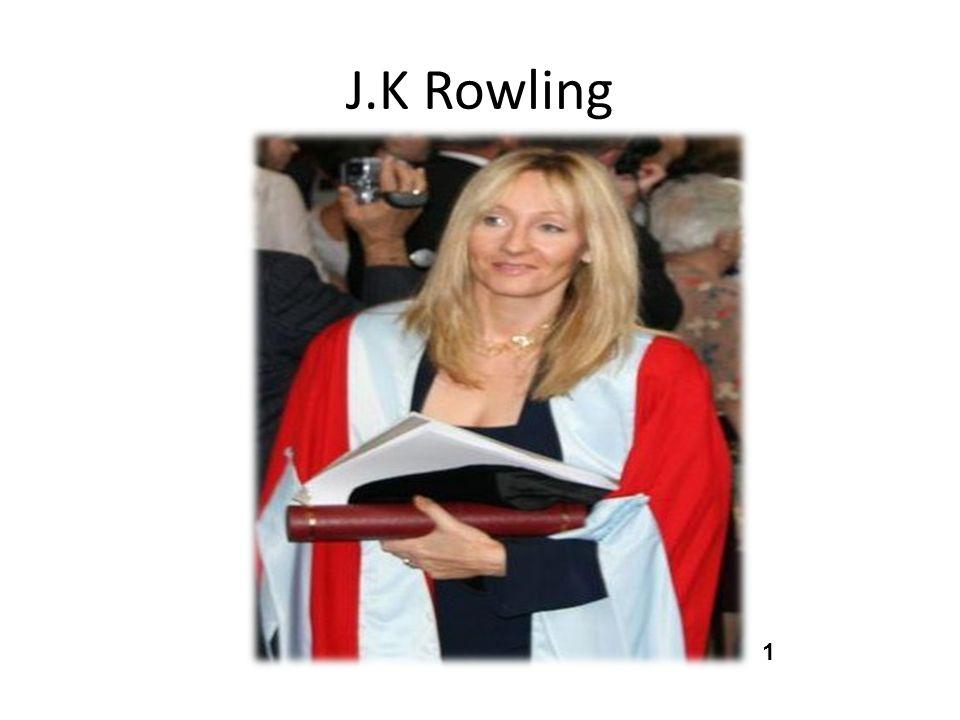 J.K Rowling 1