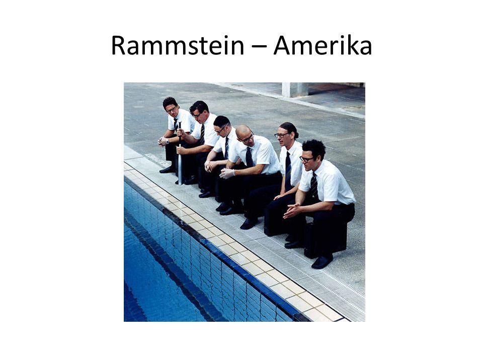Rammstein – Amerika (www.youtube.com) We re all living in Amerika Amerika ist ……….