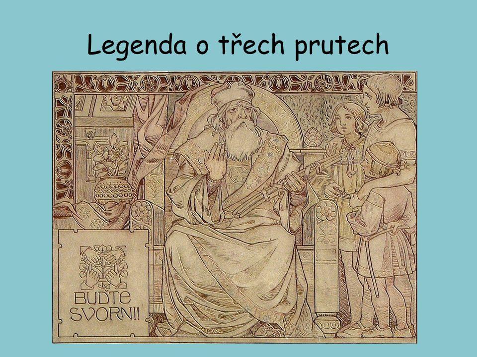 Osud Velké Moravy Po Svatoplukově smrti 894 - období vnitřní nejednoty- říše se rozpadá v důsledku mocenských sporů (dva synové- Mojmír II. A Svatoplu