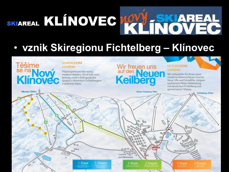 vznik Skiregionu Fichtelberg – Klínovec SKIAREAL KLÍNOVEC
