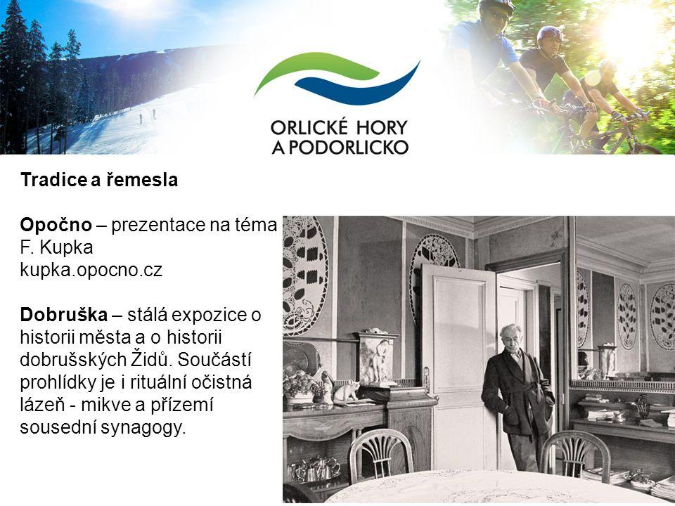 Tradice a řemesla Opočno – prezentace na téma F.