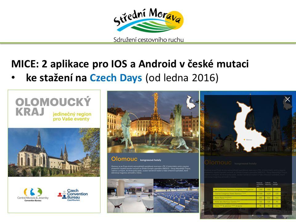MICE: 2 aplikace pro IOS a Android v české mutaci ke stažení na Czech Days (od ledna 2016)