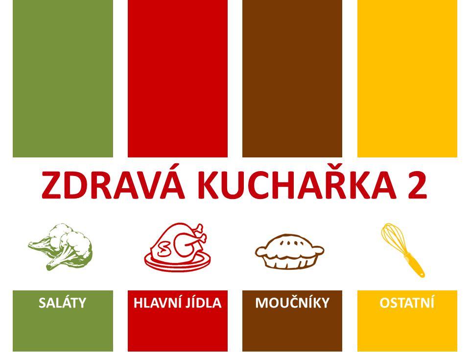 ÚVOD Vážení příznivci zdravého stravování, nápad sepsat pokračování Zdravé kuchařky loňské 2.