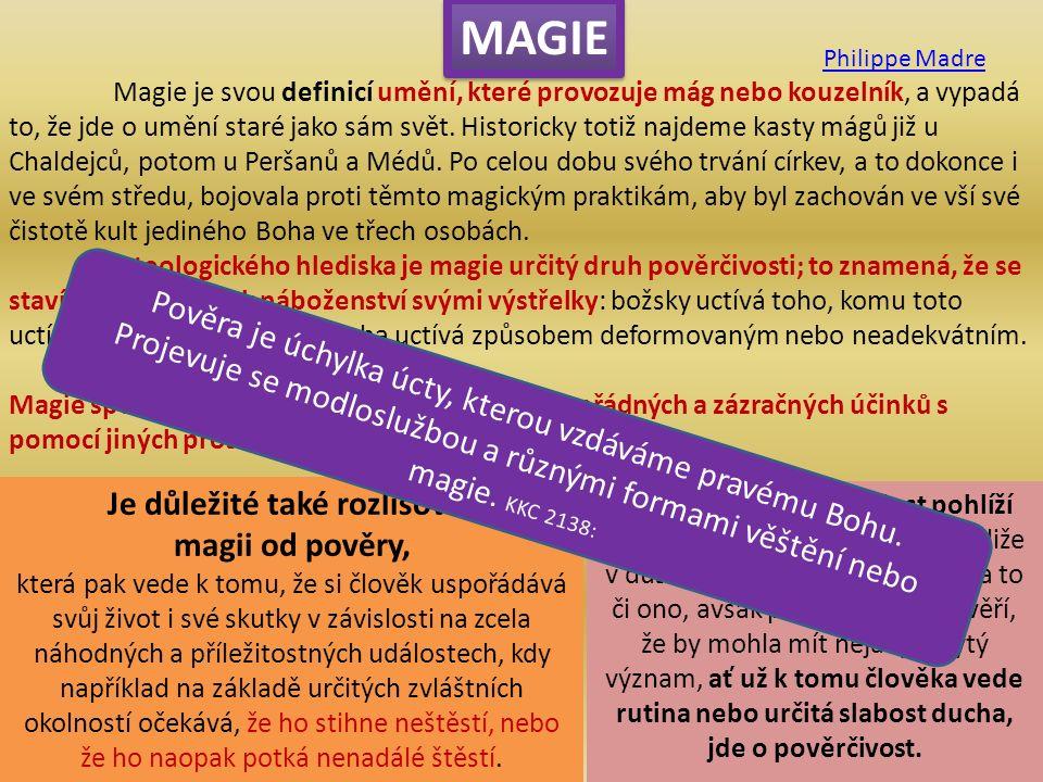 Magie je svou definicí umění, které provozuje mág nebo kouzelník, a vypadá to, že jde o umění staré jako sám svět.