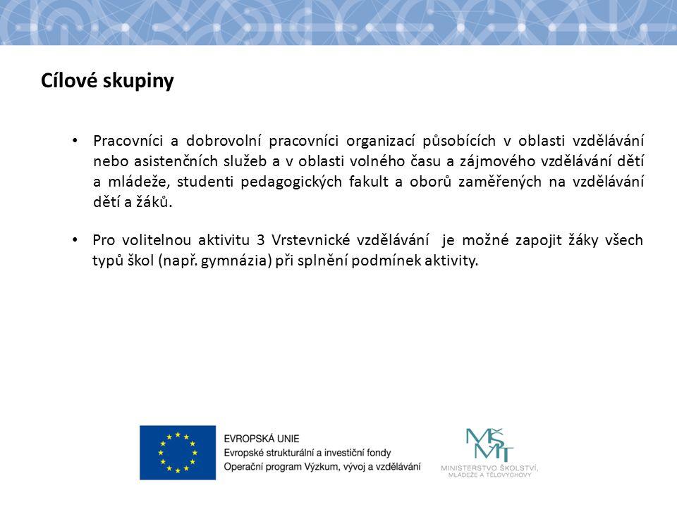 Název kapitoly Text Partnerství Partnerství není povinné.