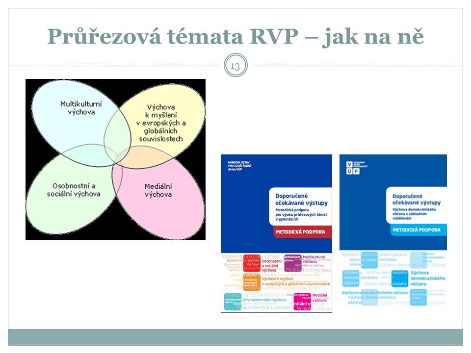 Průřezová témata RVP – jak na ně 13
