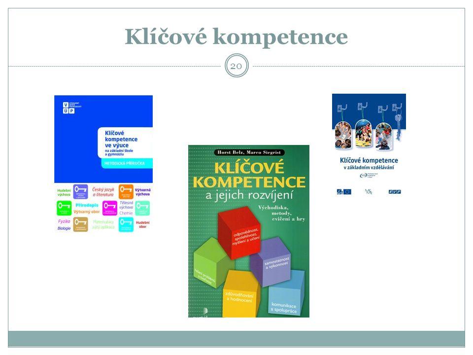 Klíčové kompetence 20