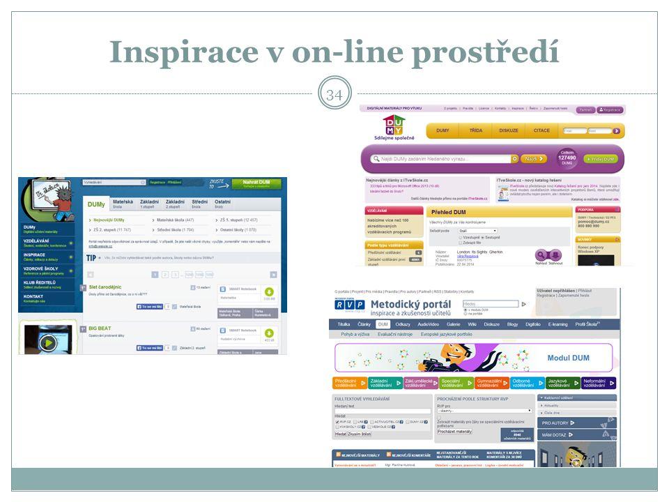 Inspirace v on-line prostředí 34