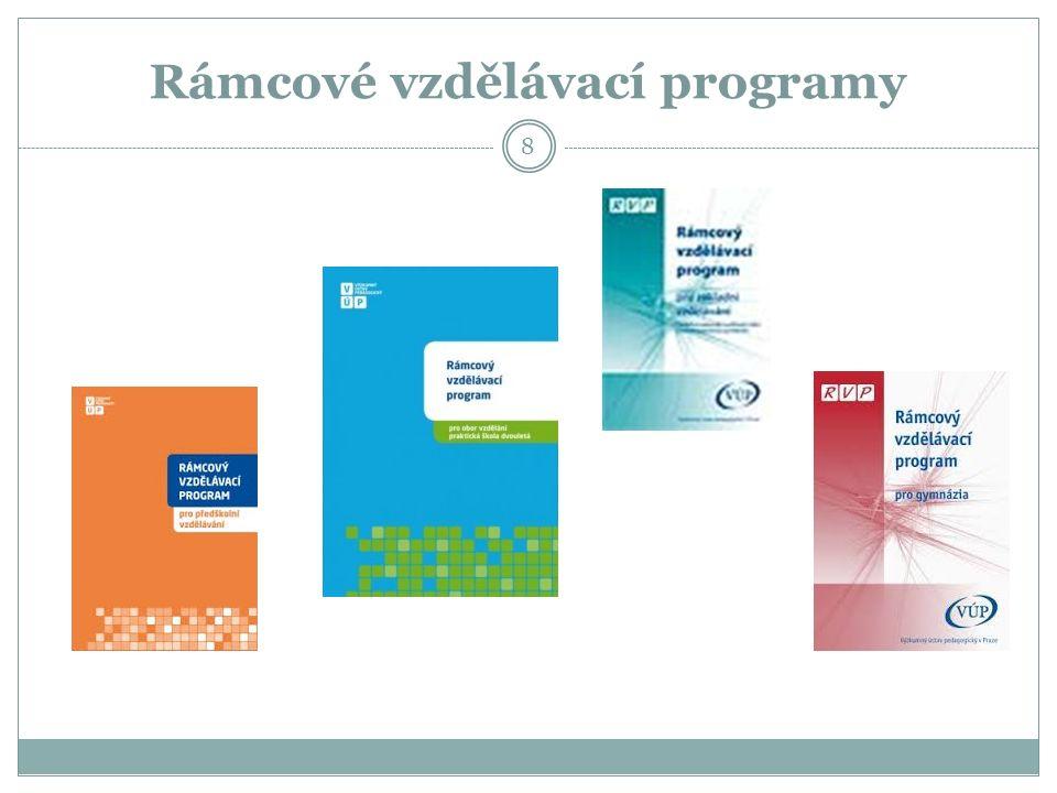 Rámcové vzdělávací programy 8