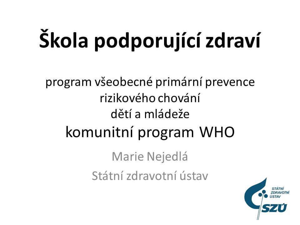 Zdraví je bohatství Děkuji za pozornost marie.nejedla@szu.cz