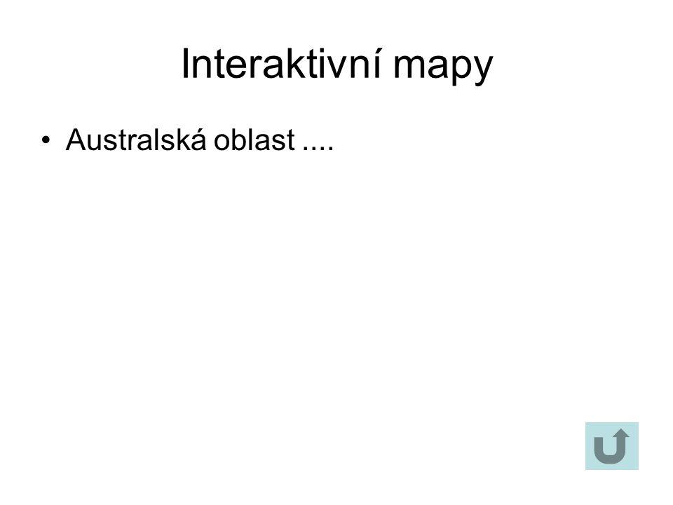 Interaktivní mapy Nearktická oblast...