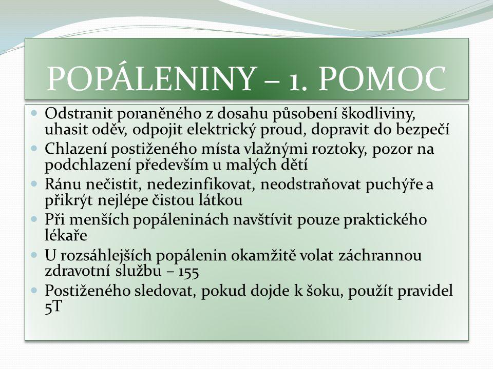 POPÁLENINY – 1.