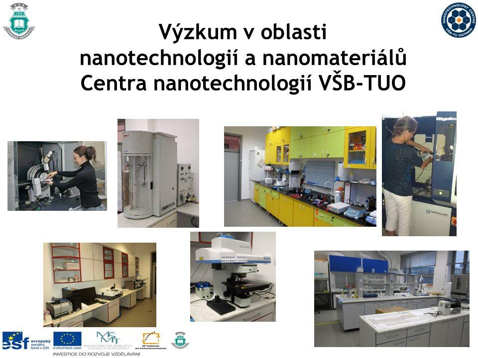 Výzkum v oblasti nanotechnologií a nanomateriálů Centra nanotechnologií VŠB-TUO