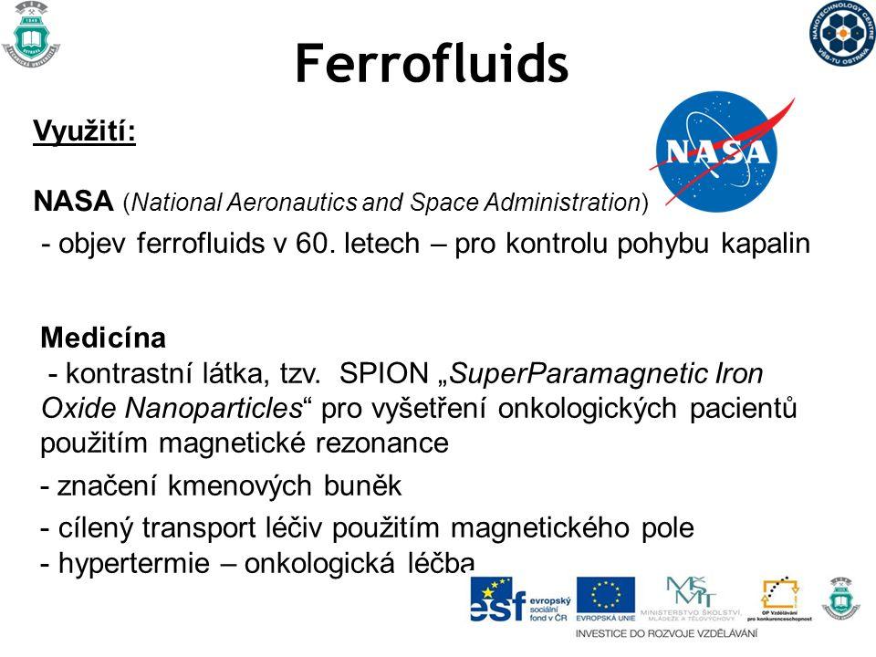Nanopěna - Na bázi SiO 2, C, kovů - Velmi nízká hmotnost - Výborné izolační vlastnosti