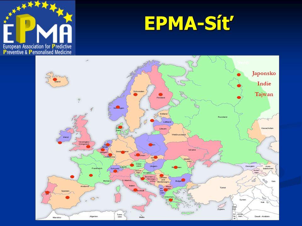 EPMA-Síť Svět: Japonsko Indie Tajwan