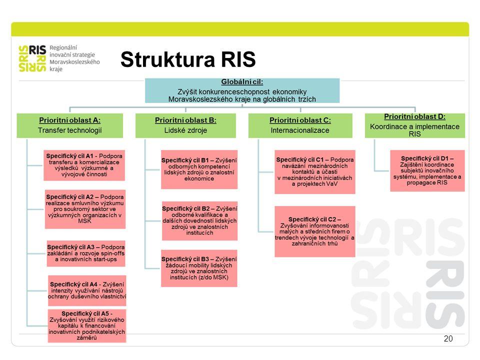 Struktura RIS 20