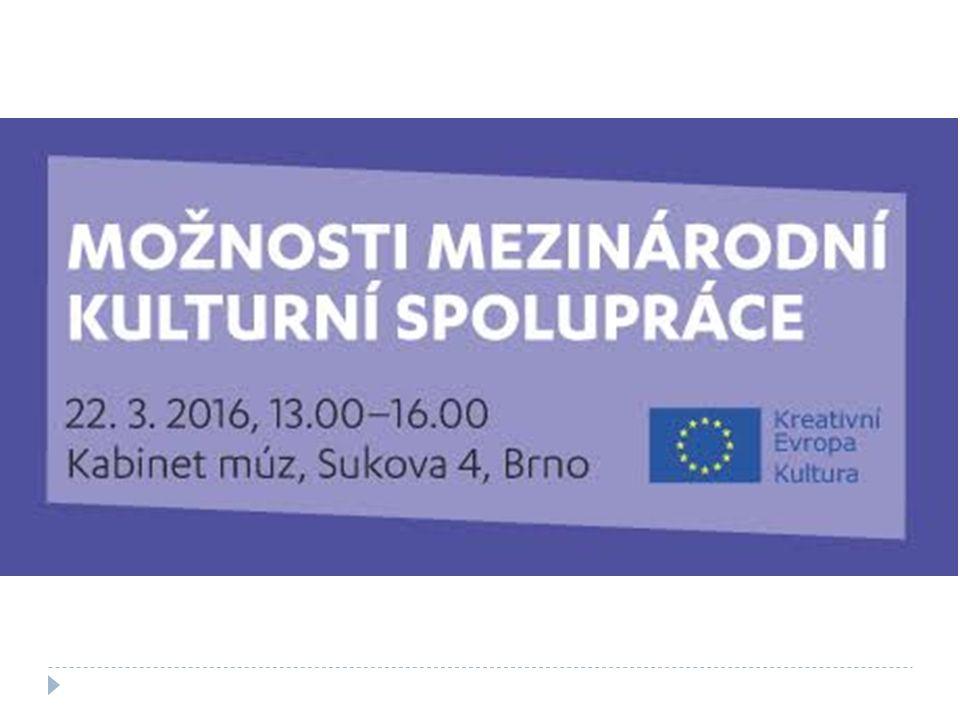 Kancelář Kreativní Evropa Creative Europe Desk Dílčí program Kultura  Mezinárodní projekty  Literární překlady  Sítě  Platformy