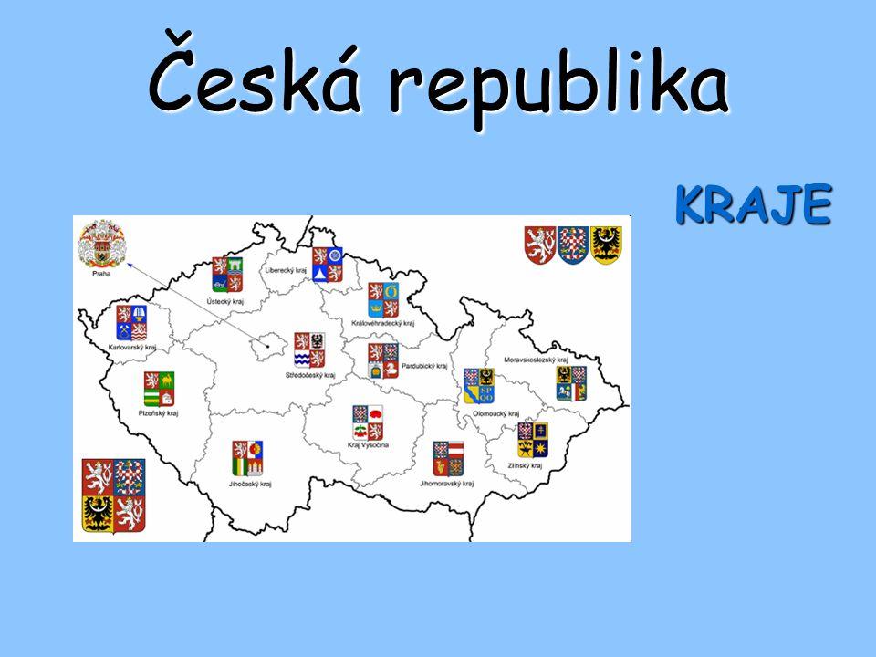 Česká republika KRAJE