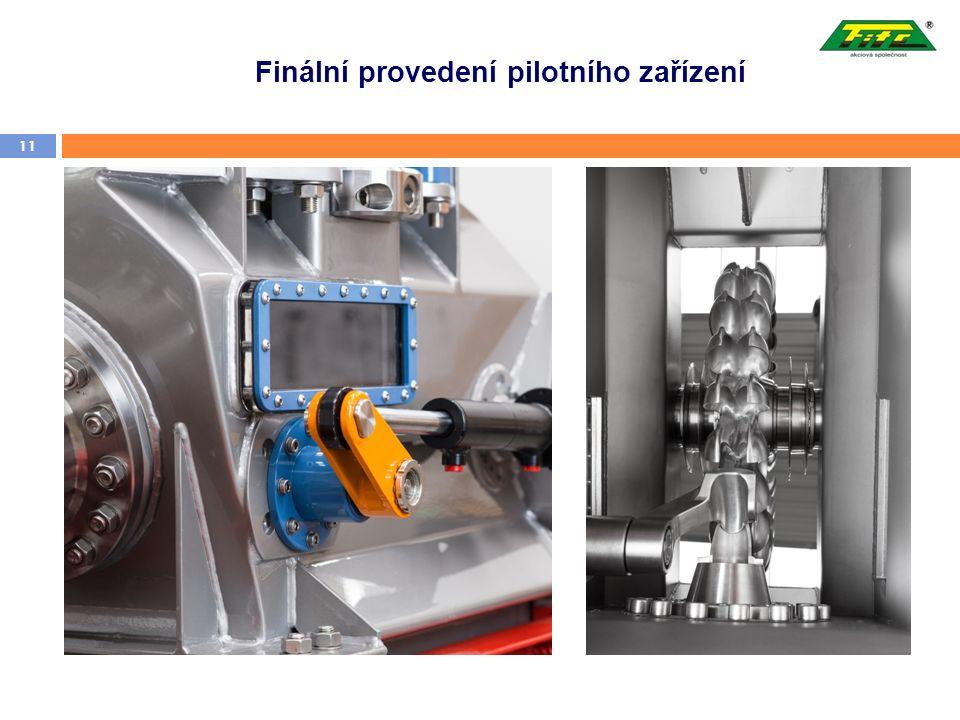 Finální provedení pilotního zařízení 11