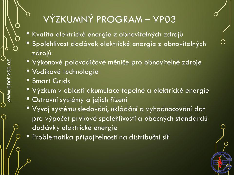 E NERGETICKÝ M IX V T ECHNOLOGICKÉM C ENTRU O STRAVA www.enet.vsb.cz