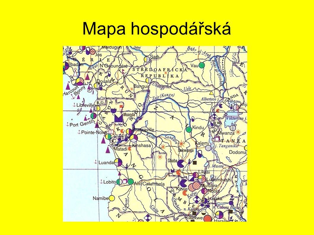 Mapa hospodářská