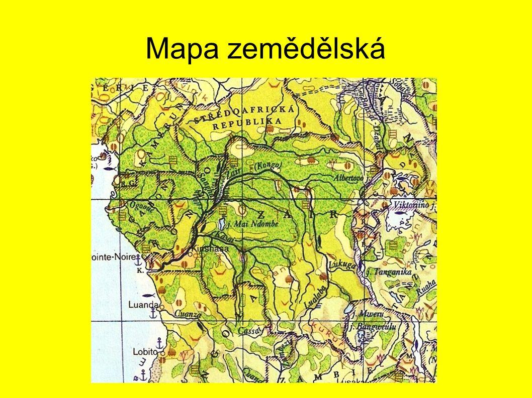 Mapa zemědělská