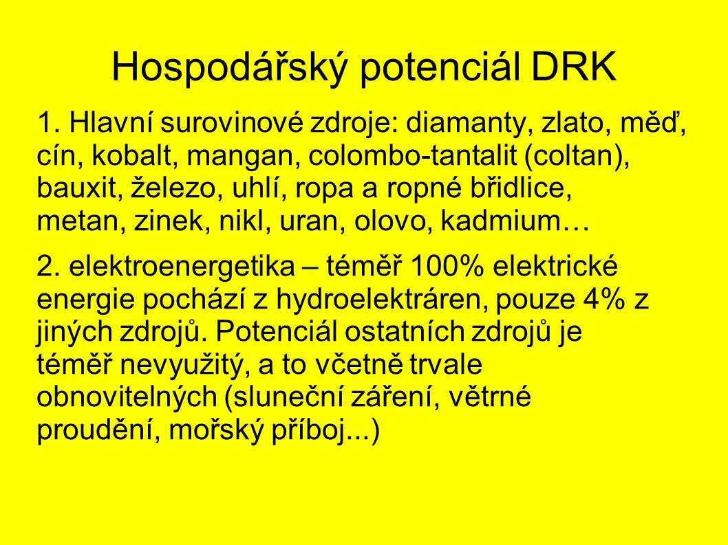 Hospodářský potenciál DRK 1.