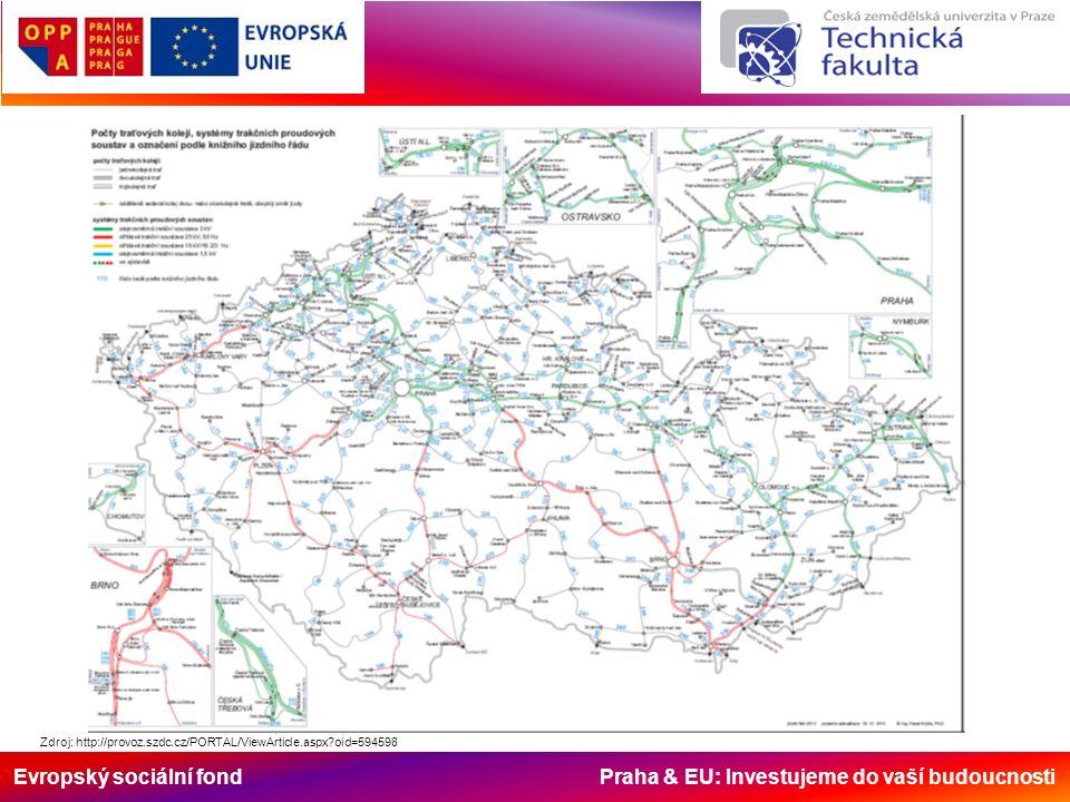 Evropský sociální fond Praha & EU: Investujeme do vaší budoucnosti Historie železnice v ČR Železniční doprava na území České republiky má své počátky v první třetině 19.