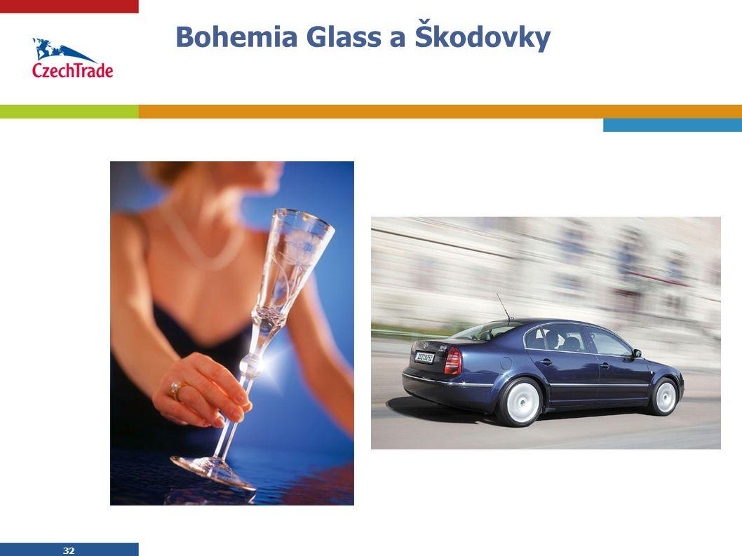 32 Bohemia Glass a Škodovky