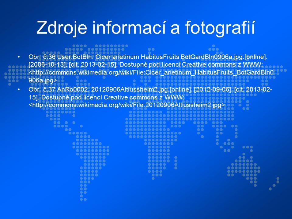 Zdroje informací a fotografií Obr. č.36 User:BotBln.