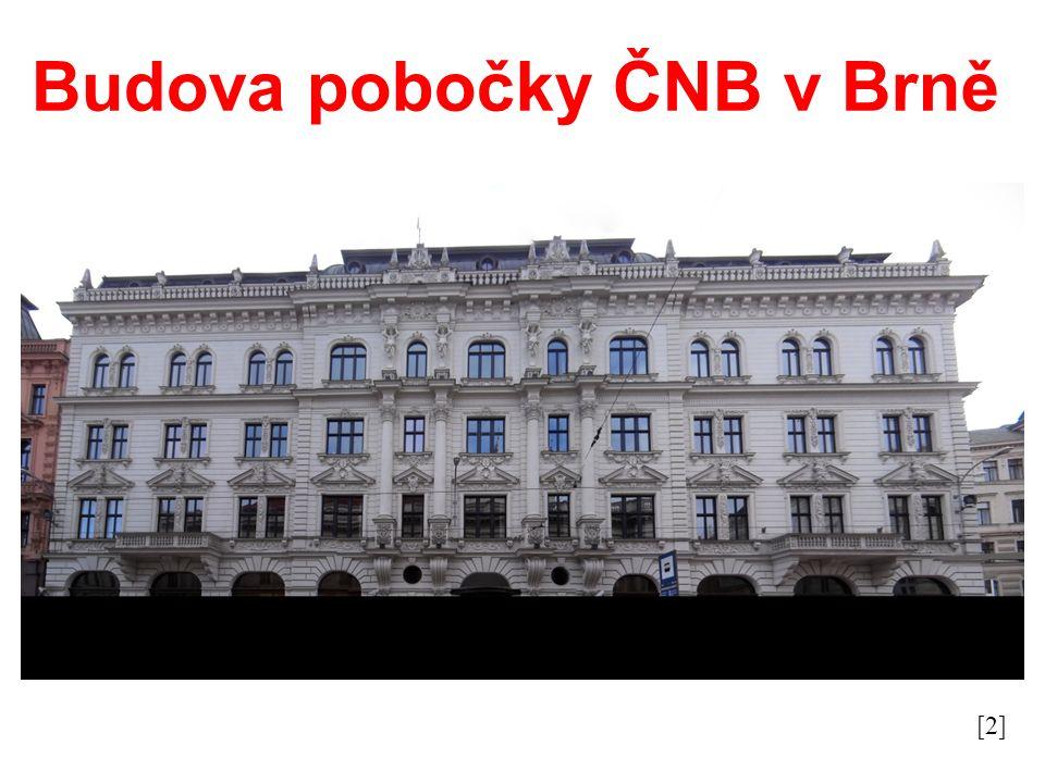 Budova pobočky ČNB v Brně [2]